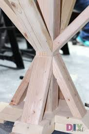 round table legs before molding