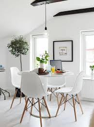 round dining tables dining room tables with chairs of eames chairs white