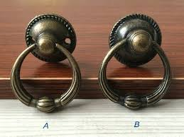 Antique looking door knobs Old School Image Rejuvenation Vintage Look Dresser Drawer Pulls Handles Knobs Ring Drop Pull Etsy