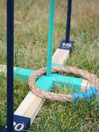 how to diy backyard ring toss game
