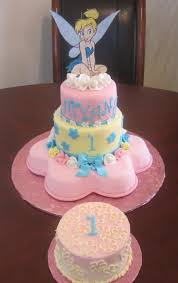 Tinkerbell Birthday Cake Tinkerbell Birthday Cake With Smash Cake