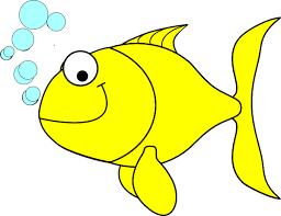 Online Clipart Fish Clipart Fish Yellow Clip Art Vector Clip Art Online