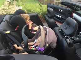 how to fit child seats and baby capsule in a 2016 mustang good gear guide