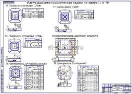 Инструментальный цех по обработке крупногабаритных прессформ с  6 Расчетно технологическая карта 3