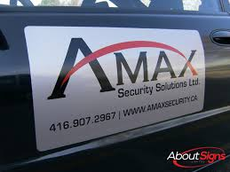 Magnetic Vehicle Signs For Your Truck Or Car In Halton On