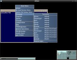 fvwm window manager
