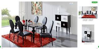 Dining Room Table And 4 Chairs Room Decoration Photo Entrancing Black And White Dining Room
