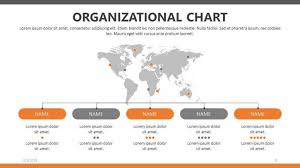 Easy Org Charts In Powerpoint Organizational Chart Free Powerpoint Template