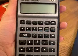 Financial Calculator Rent Hp 17bll Financial Calculator Silver In New York