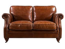 Antique Leather Sofa3