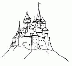 Small Picture Disney Movie Princesses Elsa Castle Coloring Pages