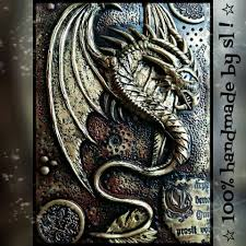 magazine covers metal sting journal prompts dragon