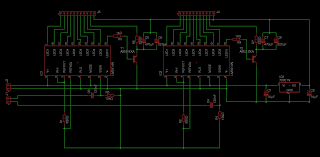 adding stereo vu meters to a turntable michael duerinckx circuit diagram showing two lm3914 ics a voltage regulator circuit two high pass input