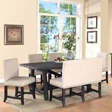 rectangle kitchen table set. Rectangle Kitchen Table And Chairs 7 Piece Oval Dining Set With Mixed 4 Wood 2 Upholstered P