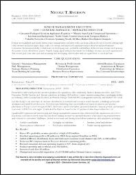 General Manager Resume Sample This Is Resume For General Job General