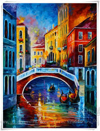 venice oil painting italian landscape oil painting on canvas hight quality hand painted venice oil painting venice morning in painting calligraphy from