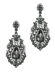 post black chandelier earrings crystal rhinestone australia