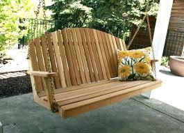 freestanding outdoor swing wicker outdoor swing chair
