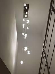floating crystal ball pendant chandelier designs