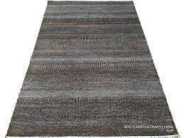 hand knotted wool rugs from india hand knotted contemporary rug in wool silk hand knotted contemporary