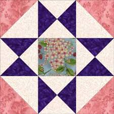 There's Extra Patchwork in this Ohio Star Quilt Block Variation ... & There's Extra Patchwork in this Ohio Star Quilt Block Variation. Free Quilt  Block PatternsPaper ... Adamdwight.com
