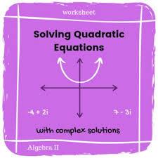 solving quadratic equations quadratics