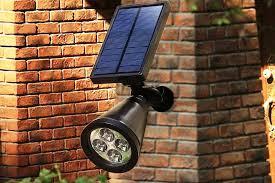 best outdoor solar powered spot lights top 6 reviews
