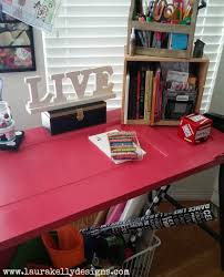 here s a fun tutorial for turning an old door into a totally cool and unique desk
