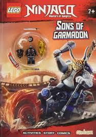 Lego Ninjago Sons of Garmadon Activity Book