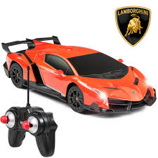 lamborghini veneno black and orange. 124 rc lamborghini veneno orange black and
