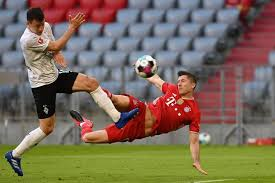 Robert lewandowski of poland during the 2018 fifa world cup russia group h match between poland and senegal at spartak. Gerd Mueller Would Be Happy If Lewandowski Equals Goal Record Says Wife Arab News