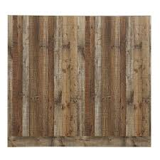 48 in x 8 ft smooth weathered barnboard mdf wall panel