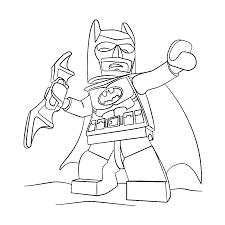 Leuk Voor Kids Kleurplaat Lego Batman Batman Coloring Pages