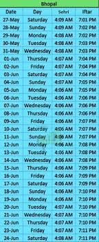 Namaz Time Table Chart In Hindi Bedowntowndaytona Com
