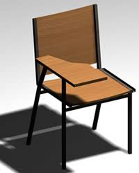 Exellent School Chair Drawing For Studio Max To Decorating