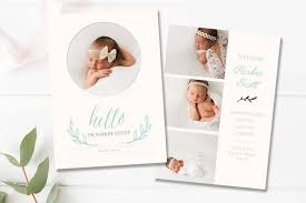 17+ Birth Announcement Card Designs & Templates - Psd, Ai | Free ...