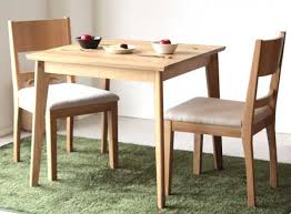 three piece dining set. Dining Set Three Points [wood] [domestically Produced Finished Products: Kitchen 3 OCTA (OCTA) Table 2 Chairs ☆ Oct [YDKG] Piece O