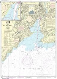 Noaa Nautical Chart 12371 New Haven Harbor New Haven Harbor Inset