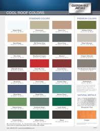 Standing Seam Roof Color Chart Standing_seam_roofing_color_chart Custom Bilt Metals Pdf