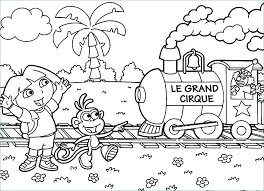 dora coloring pages the explorer coloring page dora and friends coloring pages pdf