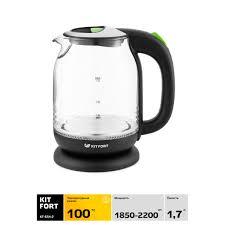 <b>Электрический чайник Kitfort</b> КТ-<b>654</b>-<b>2</b> в Туле – купить по низкой ...