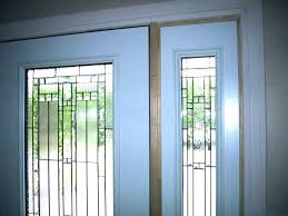 entry door glass inserts home depot front exterior
