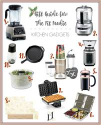 Gift For The Kitchen Gift Guide For The Fit Foodie Kitchen Gadgets Living Minnaly