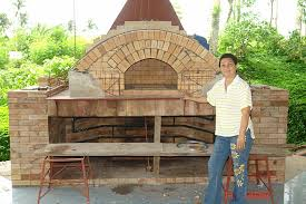 oven with triple brick arch design brick dome
