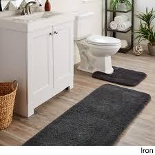 bathroom rug luxury mohawk home spa bath rug 2 x5