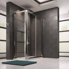 harbour 8mm toughened glass sliding shower door and optional side panels