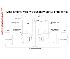dual battery switch wiring diagram in Two Battery Switch Wiring Diagram dual battery switch wiring diagram to prosplit r 2 4 jpg perko dual battery switch wiring diagram