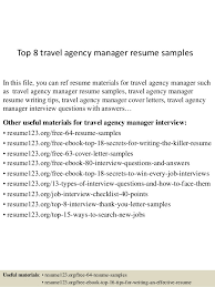 Travel Agent Resume Examples Travel Agent Resume Sample Examples