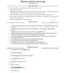 Nurse Anesthetist Resume Mesmerizing Good CRNA CV Page 48 Best Resume And CV Design Pinterest