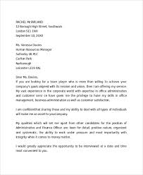 Examples Of A Professional Cover Letters Sample Cover Letter Example Template 29 Free Documents